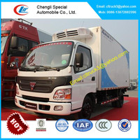Dongfeng 5 tons reefer truck,refrigerated vans