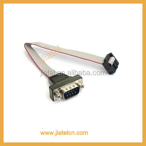 DB9 to 10 pin IDC Cable
