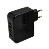 OEM Customzie 4USB 4.8A Wall Charger For Mobile Phones EU / US Plug wall charger wholesale