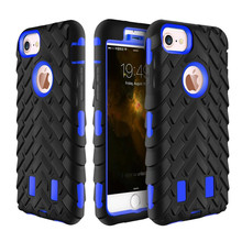 360 Degree Full Heavy Duty Shock Resistance Silicone Phone Case Cover For iPhone 6 6S 7