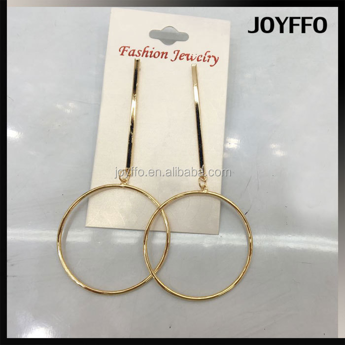 Women Gold Hoop Earrings Hook Round Hoops Dangle Hollow Star Drop Chain Tassel Fashion Circle Drop Earrings