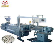 Black Carbon TPR TPE TPU TPEE PFA ETFA Plastic pellet making machine/plastic extruder for sale
