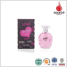 OEM ODM New Brand illusion Wholesale Charm Cheap Real Long Time Sex Pink Love Pride Female Perfume 100ml with Glass Bottle