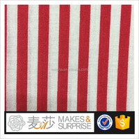 printed cotton voile fabric China Supplier,woven printed with stripe design,summer garment&blouse