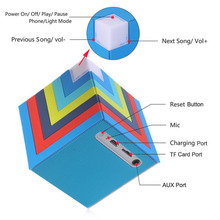 Factory wholesale china best sound home audio waterproof wireless speaker