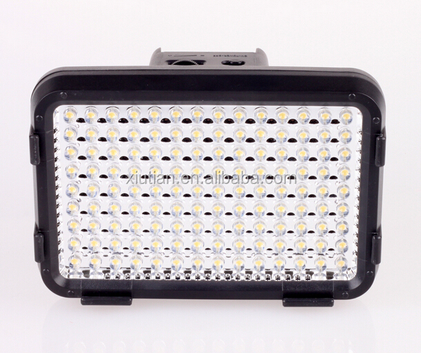 2015 New Hot HD-126 LED Video Light LED Studio Panel Flash light for Camcorder with Filter