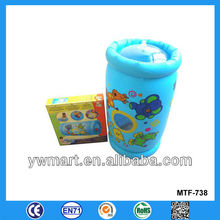 PVC inflatable rolling tube, inflatable rolling tube for baby toys, inflatable baby toys roller