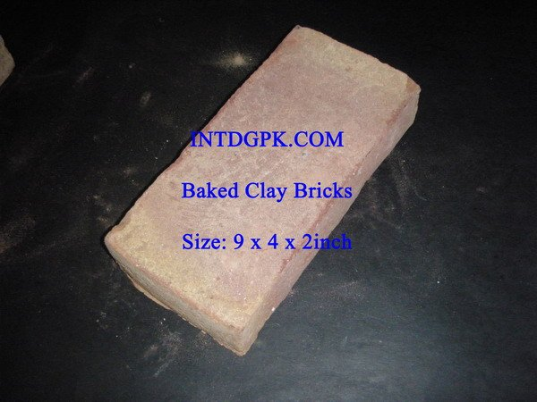 Fired Clay Bricks (Hand Made)