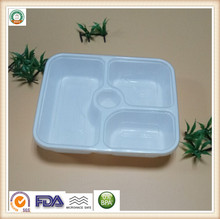 Plastic five divisions food boxes packing microwave SGS/FDA Approval