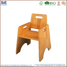 High quality european style solid wood carving chair for craft , wooden giraffe chair