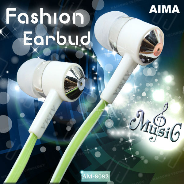 2013 high quality earbuds of cheap price with flat cable for wholesale from China supplier,for MP3,MP4,iPhone,iPad,Computer,PC