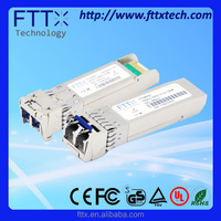 CWDM 1490nm 10Gbps Dual LC Single Mode 80km SFP+ 30w fm transmitter