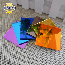 JINBAO heat resistant clear plastic mirror good price