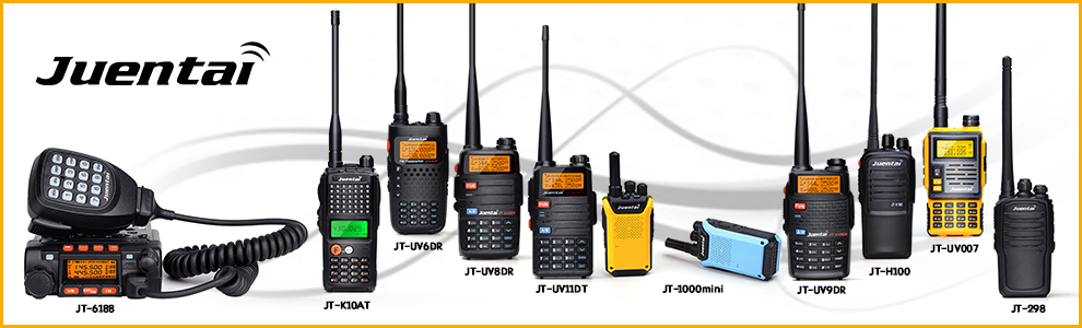 JUENTAI AL-800 Dual Band 50W 3.2dBi (VHF)/5.6dBi (UHF) BNC Male for Handheld Walkie Talkies antenna