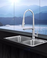 One Hole Deck Mount Water Tap For Kitchen Sink