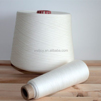 Welljoy 100 polyester spun yarn dyed for yarn traders