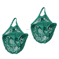 Colored Cotton Net Bag/Mesh Shopping Bag/Cotton String Bag