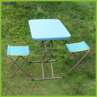 New stylish design PE leisure outdoor table in hot sale HQ-1052-57