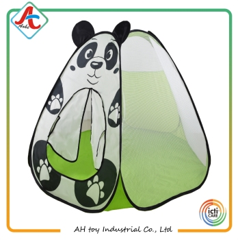 animal shape Panda dog elephant cat design children pop up play tent house