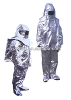 aluminized fire suit/aluminized fire proximity suit