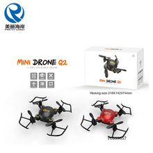 2.4G WIFI RC folding 4 axis mini drone with wifi camera and usb video go drone