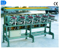 Cylinder type yarn winder CL-2B and reel winding machine
