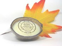 Lotion Candle in Coconut Shell