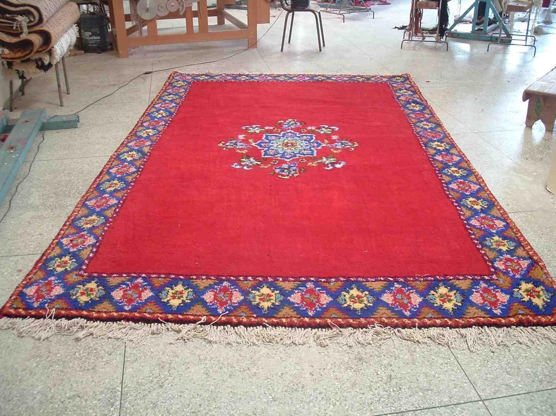 Marocaine tapis nou s la main tapis id de produit for Precio de alfombras
