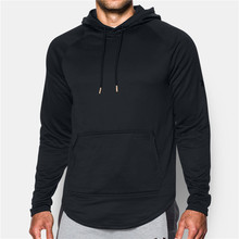 Custom wholesale blank black hoodies men cheap sports plain black cheap hoodies