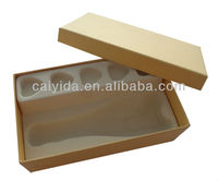 cosmetic outer packing paper box,yellow paper box for soap
