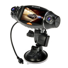 2.7 Inch portable 270 Degree Dual Lens Car DVR Video Camera R310 with GPS and Night Vision G-Sensor