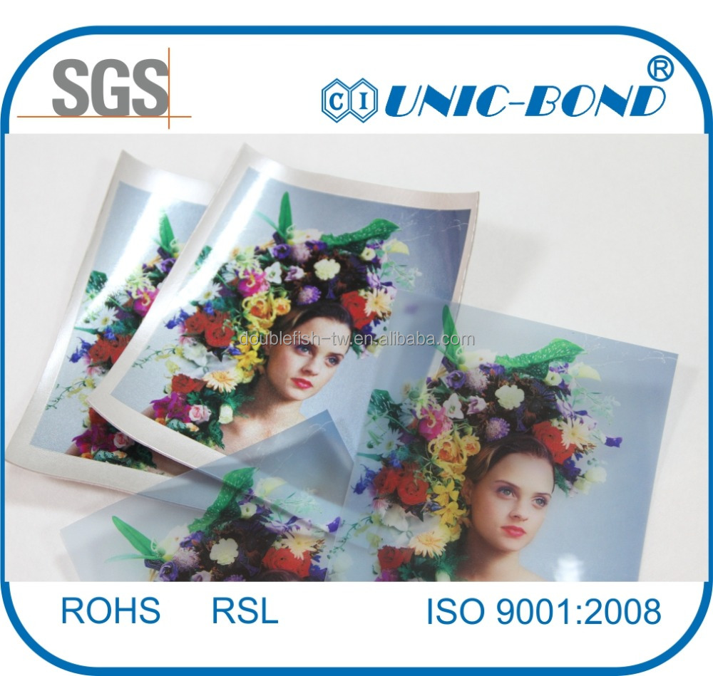 Heat transfer printing film for fabric and synthetic leather...