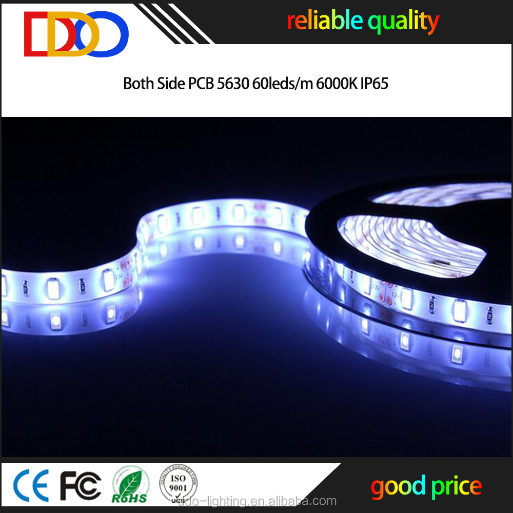 5630 led strip 6500 kelvin with a very good factory bottom price