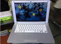 very cheap mini laptop 13.3 inch big screen notbook support flash