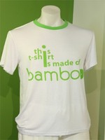 wholesale China manufacturer environmental mens bamboo t shirt printing