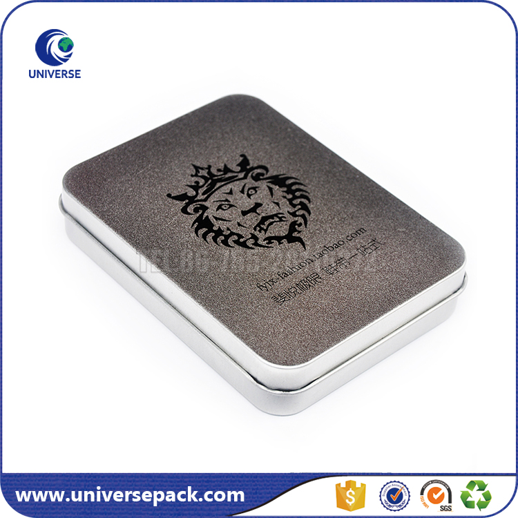 Custom Grind arenaceous business card tin box