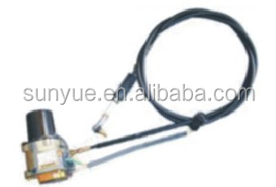 Single cable E320 Throttle motor for excavator 105-0092
