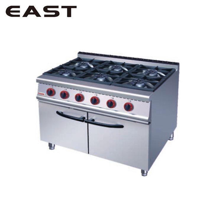 Professional Industrial Gas Cooker/2 Plate Stove/Steel Wood Gas Stove