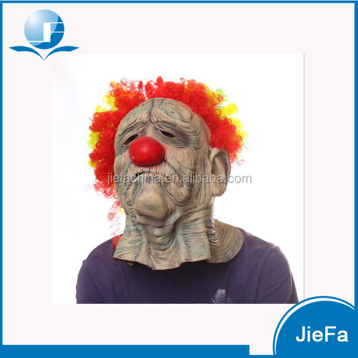 Manufacturer Funny Fashion Latex Face Mask