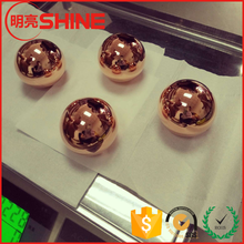 Factory Produce Copper Sphere Hollow 30mm Metal Ball Polished