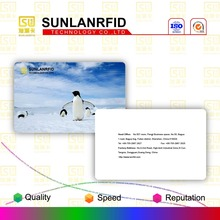 High quality plastic transparent PVC cardNewest Colorful Screen Printing Transparent Pvc Business card In Stock