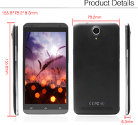 Factory price 5.5 inch 3G 960*540 1G+8GB Android HIGH quality mobile phone