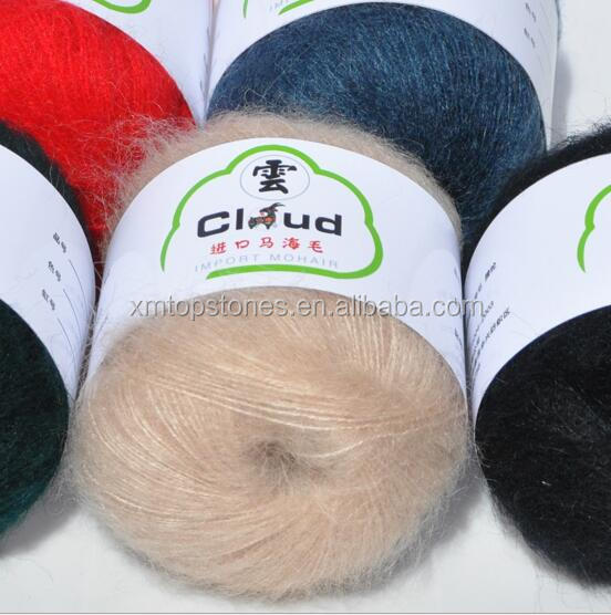 high quality crochet yarn hand knitting DIY angola Mohair yarn