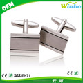 Two Tone Engravable Cufflinks