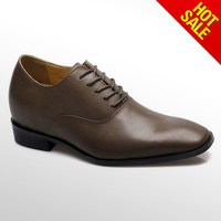 Top class mens shoes with high heels on sale in USA supermarket