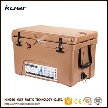 Kuercooler cooler 45 quart ice chest coolers, designed with military-grade nylon rope handles