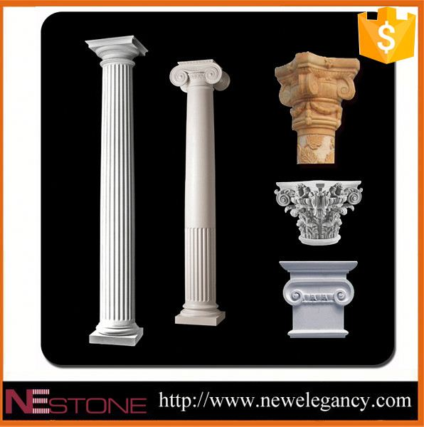 High quality and most popular handmade stone decorative column cover