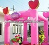 inflatable decorative wedding columns arch for sale, wedding arch wholesale