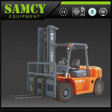 bale clamp forklift truck