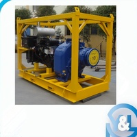 10 inch water pump with diesel engine